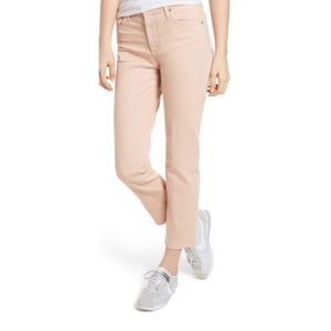AG Isabelle High Waist crop straight jeans 8043